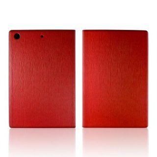 Hornettek Ozone Atom Series Red Hard Case Stand w/ Textured Lines & Card Slots for Apple iPad Mini: Computers & Accessories