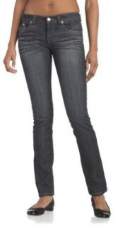 Jet Set Juniors Denim Irresistable Slim Straight Leg Jean, Black Raw Rinse, 7