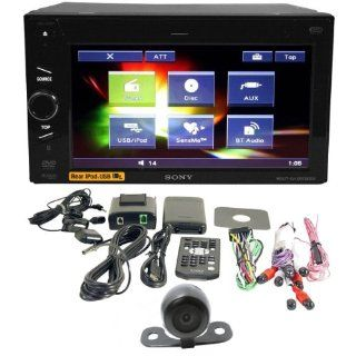 """Package Brand New Sony Xnv 660bt 6.1"""" Multimedia Touchscreen Double Din In dash DVD Receiver with Navigation + Night Vision Back up Camera  In Dash Vehicle Gps Units"""