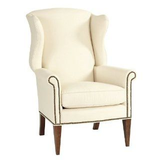 Shop Helmes Wing Chair   Ballard Designs at the  Furniture Store. Find the latest styles with the lowest prices from Ballard Designs
