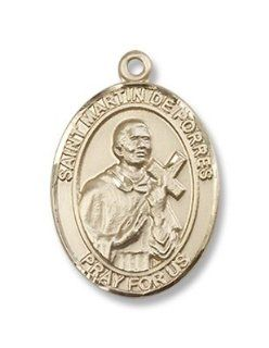 Gold Filled St. Martin De Porres Pendant, Patronage, Patron Saint of African Americans, against rats, barbers, bi racial people, black people, hair stylists, hairdressers, hotel keepers, innkeepers, inter racial justice, mixed race people, mulattoes, Negro