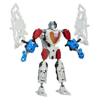 Transformers Construct Bots Scout Class Starscream Buildable Action Figure Toys & Games