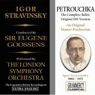 Petrouchka, Ballet: Act I, Russian Dance: London Symphony Orchestra, Igor Stravinsky Sir Eugene Goossens: MP3 Downloads