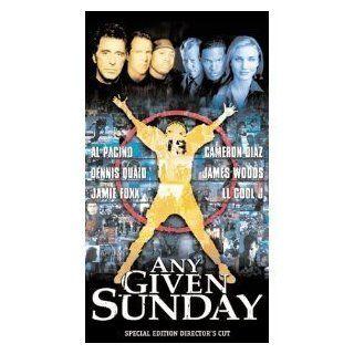 Any Given Sunday: Al Pacino, Dennis Quaid, Jamie Foxx, Cameron Diaz, James Woods, LL Cool J, Matthew Modine, Charlton Heston, Ann Margret, Aaron Eckhart, John C. McGinley, Oliver Stone: Movies & TV