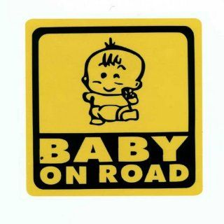 BABY IN CAR 8 Cute Sculpture Reflective Decorative Car Stickers for Car and Anything Sports & Outdoors
