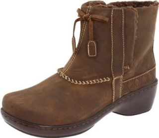 Klogs USA Women's ALPINE Boot, Dark Brown Oil, 11 M US Shoes
