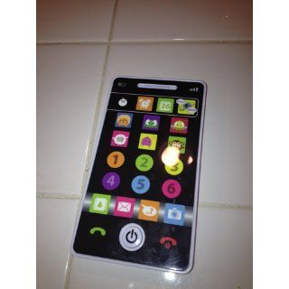 Kidz Delight Smooth Touch Smart Phone, Black Display : Baby Shape And Color Recognition Toys : Baby