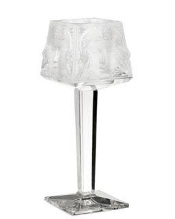 Tall Masque Candelabra   Lalique