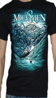 Of Mice And Men Ice Age Black T Shirt: Music Fan T Shirts: Clothing