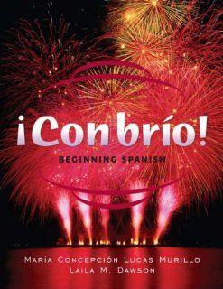 Con brio Beginning Spanish (Spanish Edition) (9780471264170) Maria C. Lucas Murillo, Laila M. Dawson Books