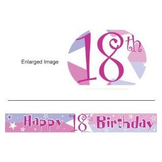 18th Birthday banner   Life Begins Happy 18th Birthday Banner   Other matching party products   birthday shimmer   pink   Musical Instruments Equipment And Accessories