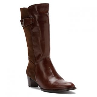 Luis Gonzalo Sasha  Women's   Brown Gaucho Calf Leather with Miura Suede Combo