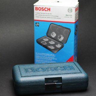 Bosch RA1125 7 Piece Router Template Guide Set   Bosch Template Guide