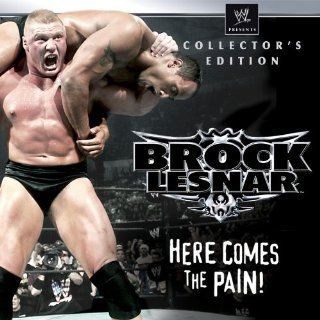 "WWE Brock Lesnar Here Comes The Pain Collector's Edition: Season 1, Episode 16 ""SmackDown September 18, 2003, 60 Minute Iron Man Match for the WWE Championship Kurt Angle vs. Brock Lesnar"":  Instant Video"