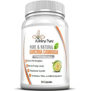 SAVE 33% TODAY! 100% Pure Garcinia Cambogia Extract BY ASHLEY PREMIUM, INC  Maximum Strength (60% HCA) :: 800mg Strong :: 60 Capsules :: No Fillers, Additives, or Binders. 5 Bottles Max Per Customer Due to High Demand   Clinically Proven   Dr Recommended S