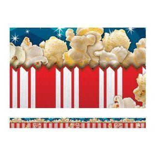 Edupress Ep 3271 Popcorn Layered Border   Wallpaper Borders