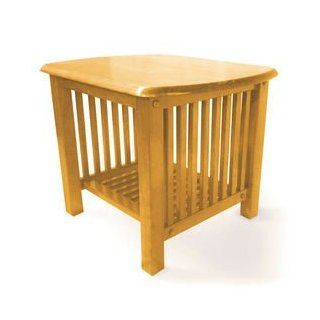 Shop Mission Golden Oak End Table at the  Furniture Store. Find the latest styles with the lowest prices from Prestige Furnishings