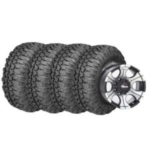 Super Swamper TRXUS MT   Radial Tires and Black DC2 Wheels Pacakage