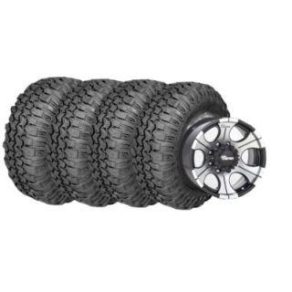 Super Swamper TRXUS MT   Radial Tires and Black DC2 Wheels Pacakage