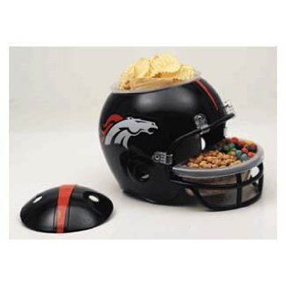 DENVER BRONCOS NFL Football Party Snack HELMET for Chips Popcorn, etc : Sports Related Merchandise : Sports & Outdoors