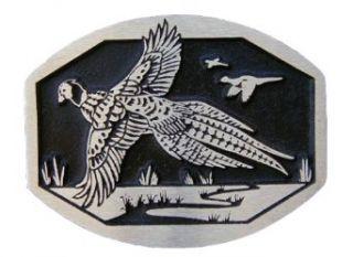 Pheasant Bronze Novelty Belt Buckle Clothing