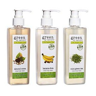 Green By Nature   Lemon Verbena Total Body Wash 7.10 Fl. Oz. : Bath And Shower Gels : Beauty