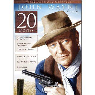 20 Film Great American Westerns John Wayne Collection John Wayne, Harry Carey, Bruce Cabot, Paul Fix, Yakima Canutt, George &#34, Gabby&#34, Hayes, 20 Features Movies & TV