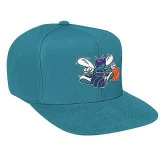 Mitchell & Ness NBA Solid Snapback   Mens   Basketball   Accessories   Charlotte Hornets   Teal