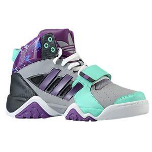 adidas Originals Streetball 1.5   Mens   Basketball   Shoes   Mid Grey/Bahia Mint/Tribe Purple