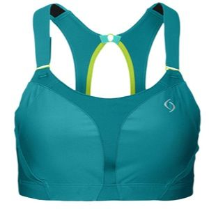 Moving Comfort Endurance Racer High Impact Sports Bra   Womens   Basketball   Clothing   Luxe/Citrus