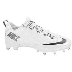 Nike Zoom Vapor Carbon Fly 2 TD   Mens   Football   Shoes   White/Metallic Dark Grey