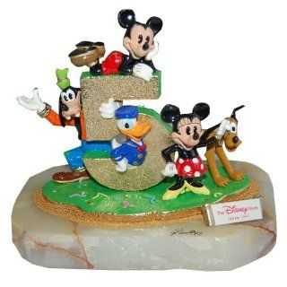 Disney Fifth Anniversary Ron Lee's Original Collection Statue ( Mickey Mouse, Donald Duck, Goofy, Mini Mouse & Pluto): Toys & Games