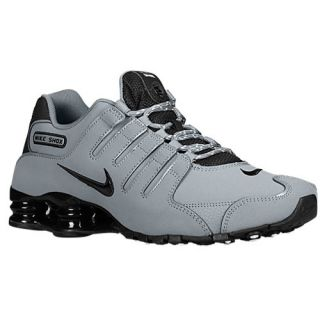 Nike Shox NZ   Mens   Running   Shoes   White/Metallic Silver/Prize Blue/Brave Blue