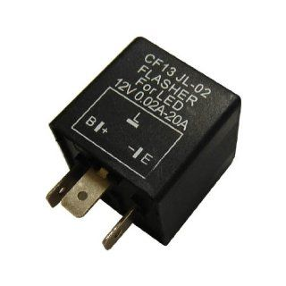 3 Pin CF 13 Electronic Flasher Relay Fix For LED Turn Signal Light Bulbs Automotive