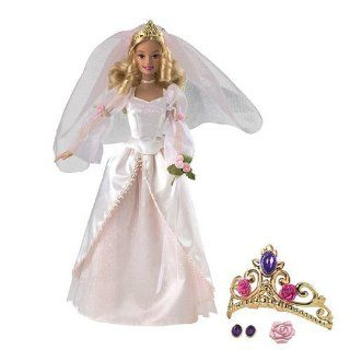 Barbie 12 Dancing Princesses Princess Genevieve Gets Married!: Toys & Games