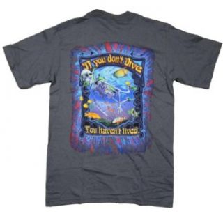 Amphibious Outfitters You Haven?t Lived Scuba Dive Tee Shirt: Clothing