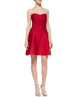 Womens Jane Strapless Bandage Dress   Erin Fetherston   Azalea (MEDIUM)