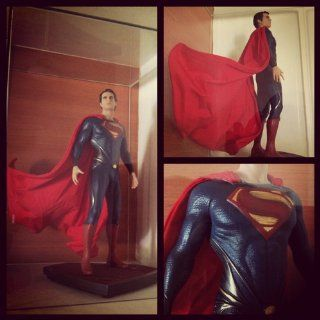 DC Collectibles Man of Steel Superman Iconic Statue, Scale 1/6: Toys & Games