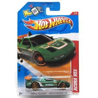 2012 Hot Wheels Thrill Racers   Racecourse Acura NSX Green #181/247 Toys & Games