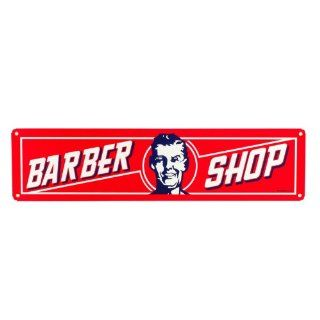 Barber Shop Vintage Style Retro Salon Sign Classic Tin Decoration Antique Metal: Beauty