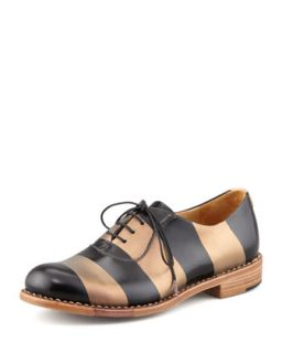 Mr. Smith Striped Oxford   The Office of Angela Scott   Bronze (38.0B/8.0B)