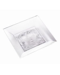 Masque de Femme Mirror Tray   Lalique