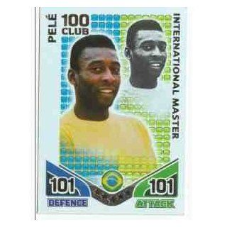 Match Attax ENGLAND Hundred Club BRAZIL Pele [Toy] Toys & Games
