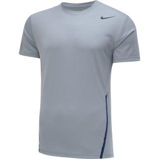 NIKE Mens Power UV Short Sleeve Tennis T Shirt   Size: Xl, Base Grey/anthracite