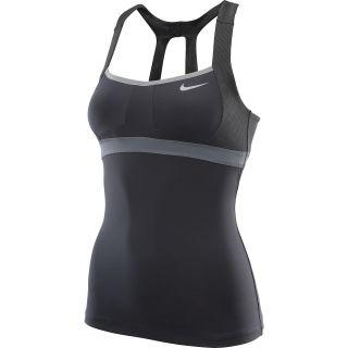 NIKE Womens Maria Sharapova OZ Open Tennis Tank Top   Size: L, Anthracite/grey