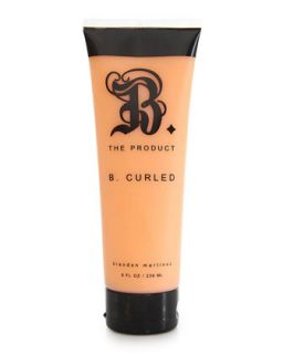 B. Curled with Argan Oil, 8oz   B. The Product   (8oz )