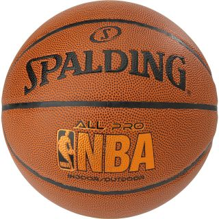 SPALDING NBA All Pro 29.5 Indoor/Outdoor Basketball   Size: 7, Tan
