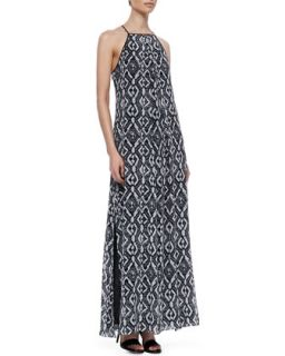 Womens Jungle Printed Maxi Dress   10 Crosby Derek Lam   Black/White (4)