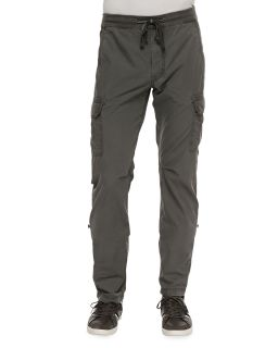 Mens Weekend Cargo Pants, Heather Gray   7 For All Mankind   Heather grey (33)