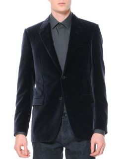 Mens Velvet Evening Jacket, Violet   Lanvin   Purple (52)